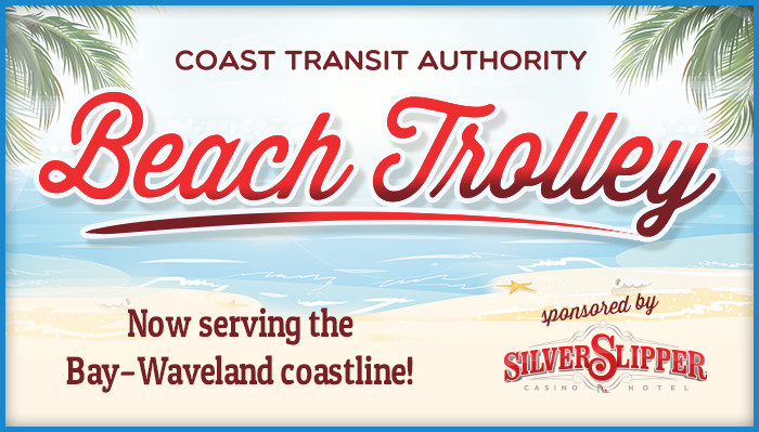 Bay Waveland Beach Trolley