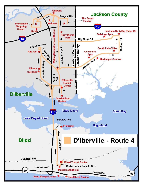 D Iberville Route 4